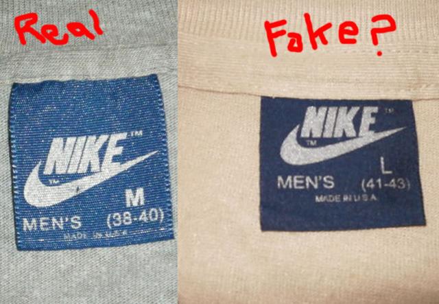 Fake Nike Just Do It T shirt | Nike men