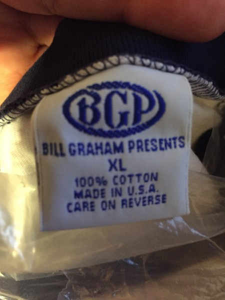 bill graham presents tag