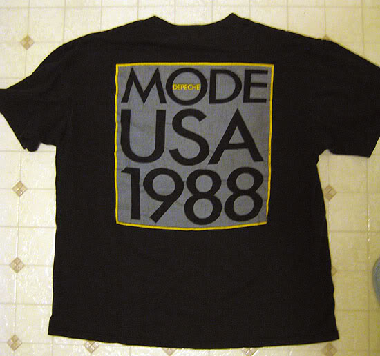 Depeche Mode 1988 USA shirt