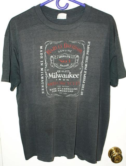 Vintage T-Shirt Forums • 80s Harley Davidson Jack Daniels