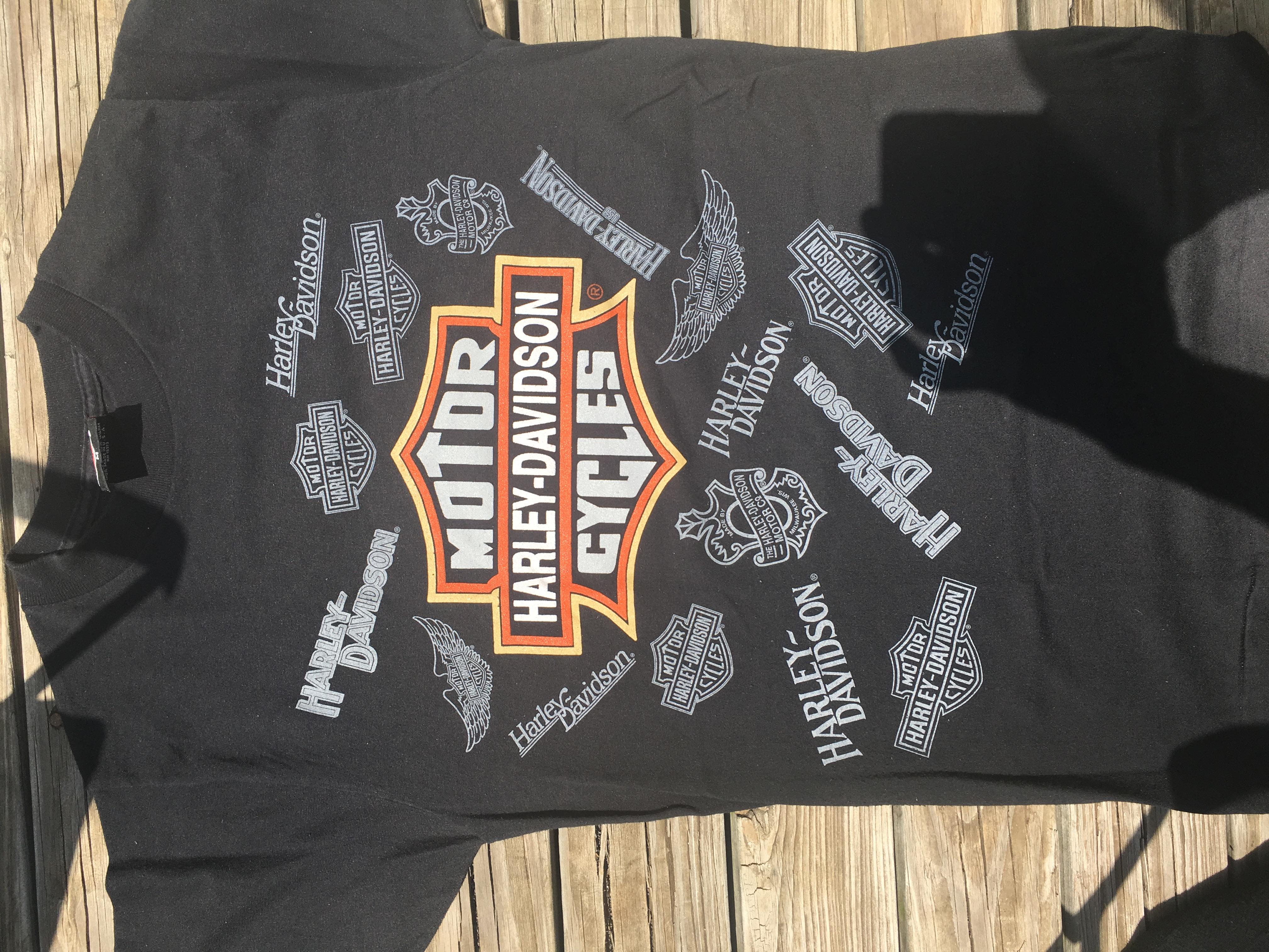 Vintage T-Shirt Forums • Vintage Harley Davidson and 3D