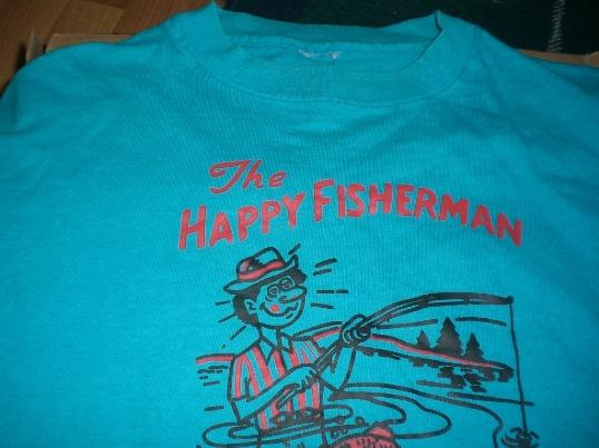 4b8cb0011 Vintage T-Shirt Forums • Happy Fisherman Shirt
