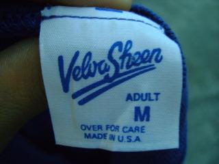 Later VelvaSheen Label