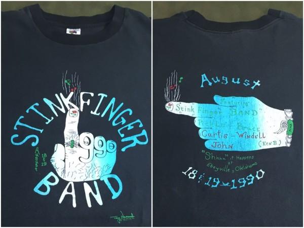 Stinkfinger Band t-shirt