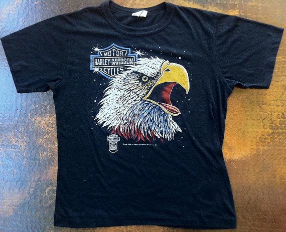 Vintage 1980s Harley shirt