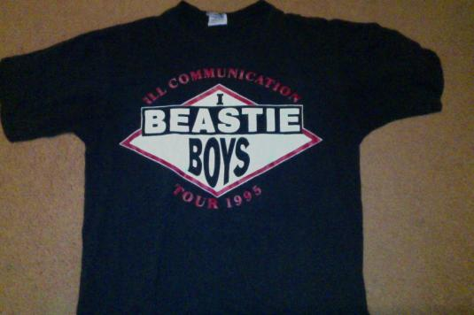 Pit Crew Shirts >> 1995 vintage Beastie Boys Ill Communication tour shirt