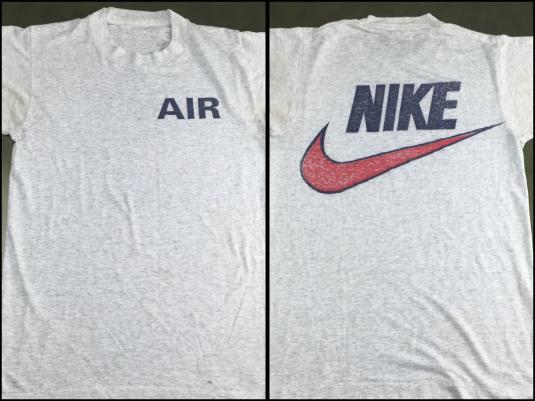 True Vintage 80s Nike Air Jordan Max Swoosh Thin T Shirt