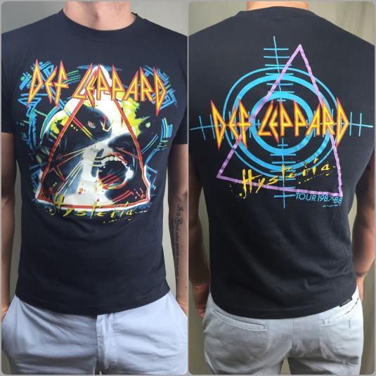 Def Leppard Tshirts  Tour