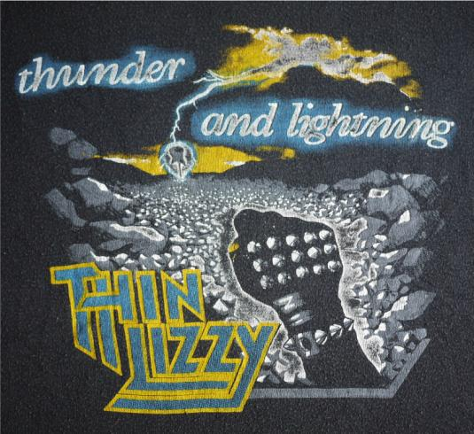 1443d1a4405 THIN LIZZY Vintage 1983 T-Shirt