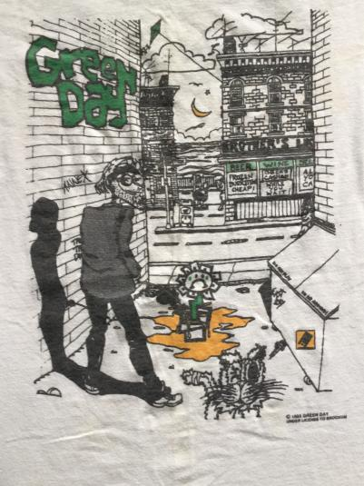 Green Day 90s Alleyway T Shirt