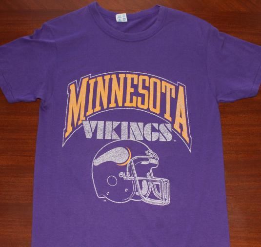 Minnesota Vikings vintage purple