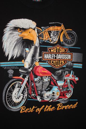Vintage 80 U0026 39 S Harley Davidson Eagle Best Of The Breed T