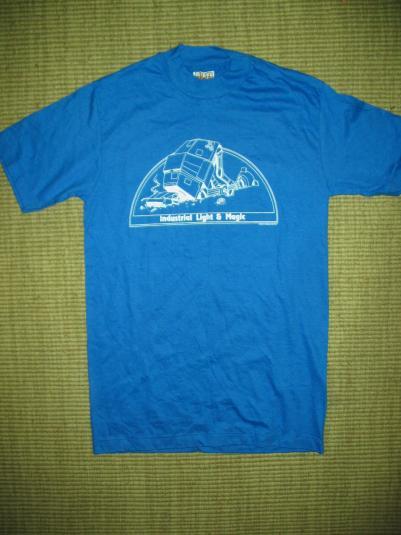 Industrial Light Amp Magic Empire Strikes Back Crew Shirt