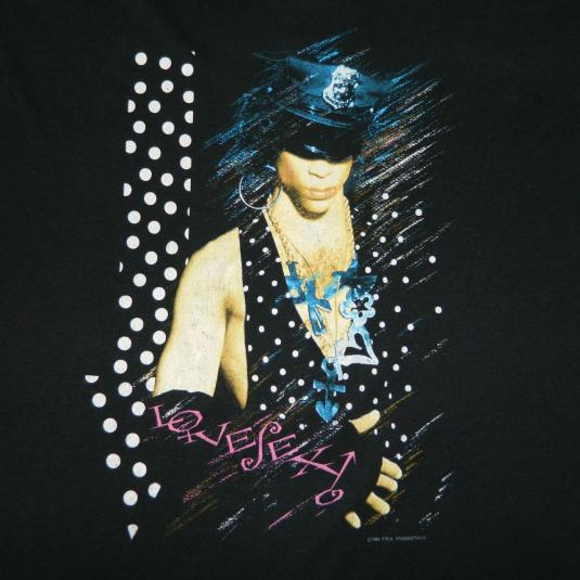 Vintage PRINCE LOVESEXY 1988 TOUR T-Shirt 80s