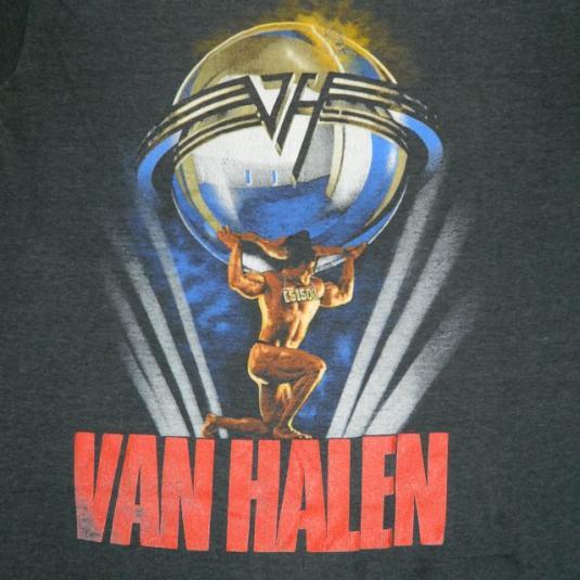 79ceac8c824 Vintage VAN HALEN 1986 5150 Tour T-Shirt 80s concert