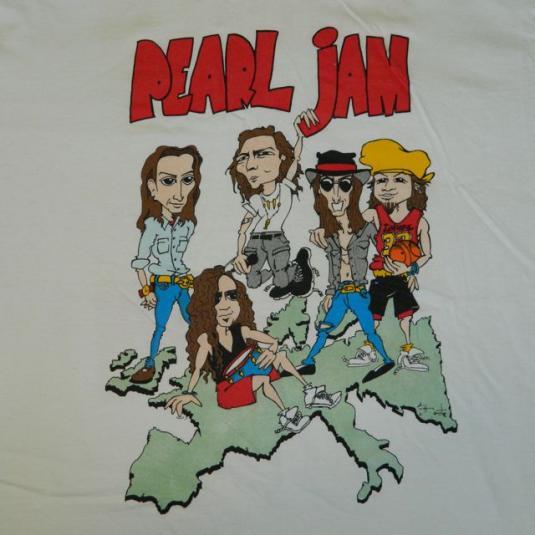 Pearl Jam Tee - Vintage - T Shirts