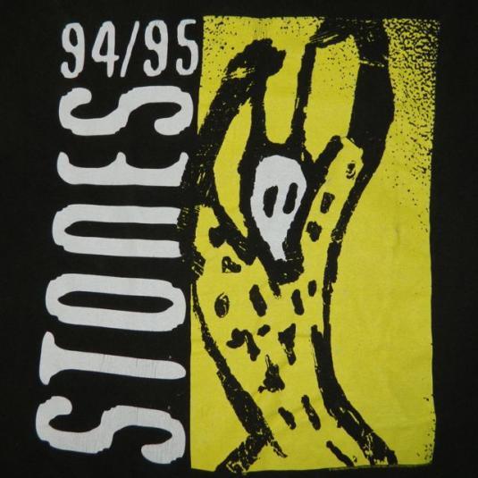 1ed63bc81fca Vintage ROLLING STONES 94/95 VOODOO LOUNGE Tour T-Shirt