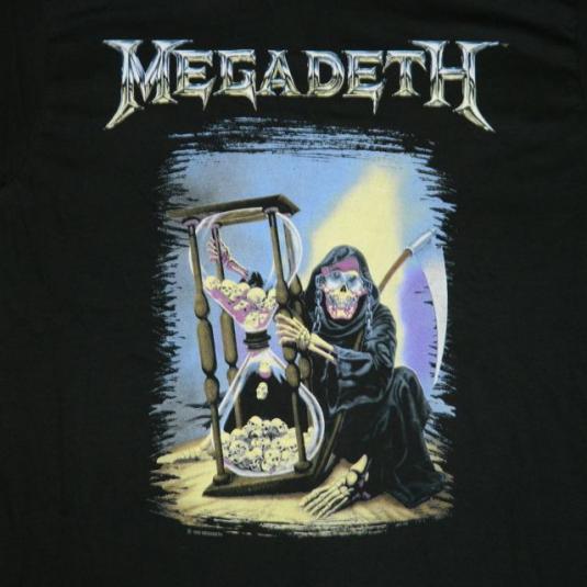 Megadeth countdown to extinction tour 1992 cadillac