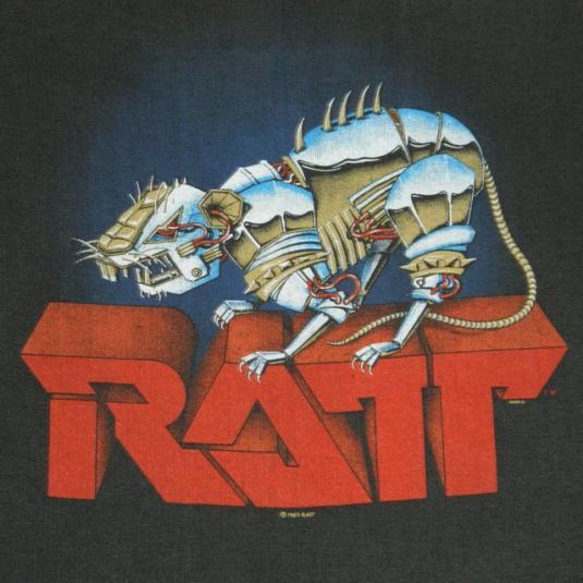 vintage ratt sweatshirt 1984 tour very rare  t