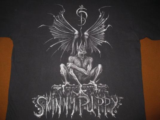 774e42ec7021 1992 SKINNY PUPPY THE LAST RIGHTS TOUR VINTAGE T-SHIRT