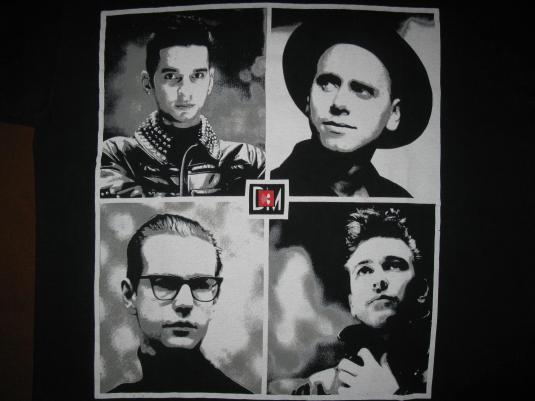 1988 depeche mode 101 music for the masses vintage t shirt. Black Bedroom Furniture Sets. Home Design Ideas