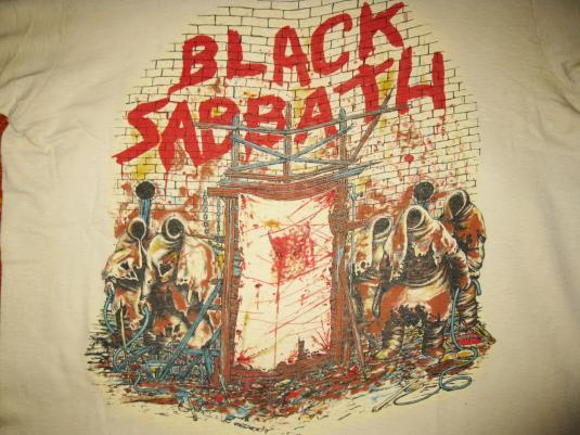1981 Black Sabbath Mob Rules Vintage T Shirt Ozzy Osbourne