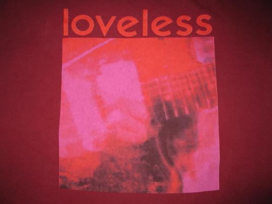 1991 MY BLOODY VALENTINE LOVELESS VINTAGE T SHIRT SHOEGAZE