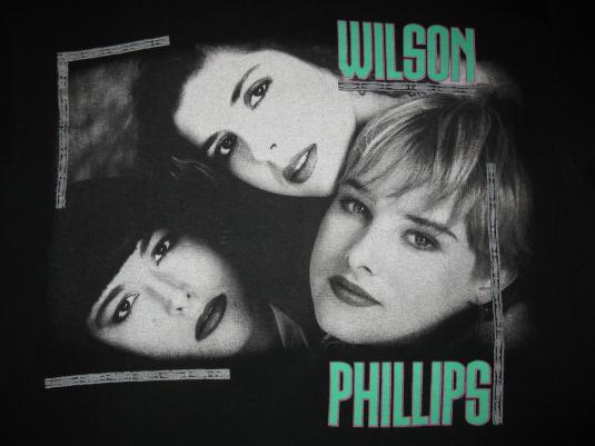 1990 wilson phillips vintage t