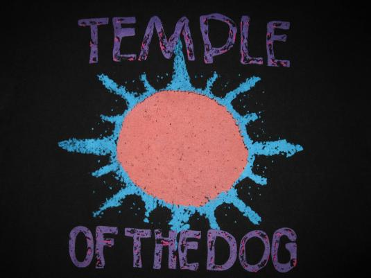 1991 Temple Of The Dog Hunger Strike Vintage T Shirt Seattle