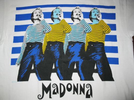 madonna t shirt vintage