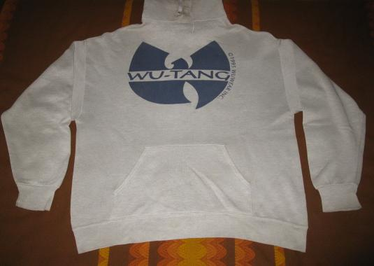 5a230fffbe 1995 WU TANG CLAN VINTAGE SWEAT SHIRT HOODIE WU WEAR