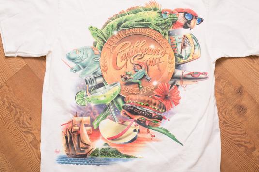 Caribbean Soul: Jimmy Buffett Rock Caribbean Soul T-Shirt, 10th Anniversary