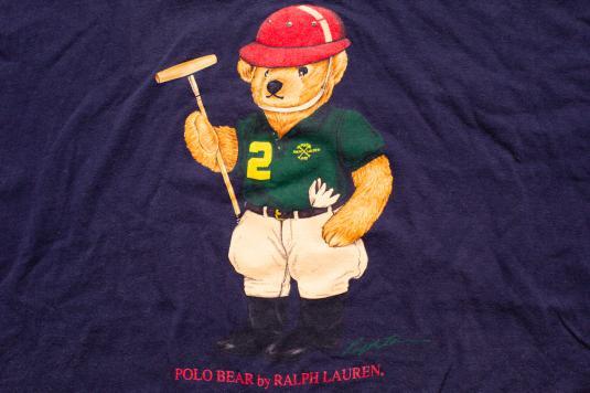 Bear Ralph ShirtXlPlayerVintage Lauren T Polo 90s vN0wmO8n