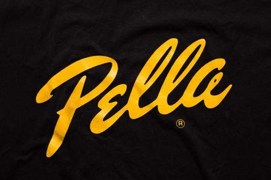 Pella Logo T Shirt Windows Amp Doors Company Vintage 80s 90s