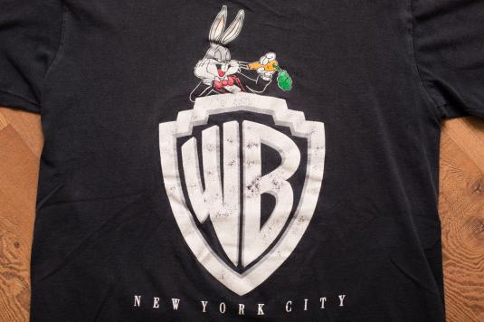 0fcb3f28a073 WB New York City Logo T-Shirt, Bugs Bunny, Warner Bros NYC
