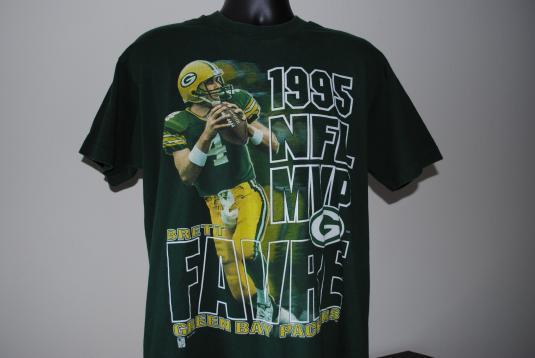 quality design 83867 f0990 1995 Brett Favre Vintage Green Bay Packers Legend T-Shirt