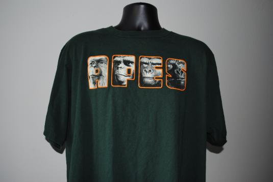 1999 Planet Of The Apes Vintage Classic 60 S Movie T Shirt