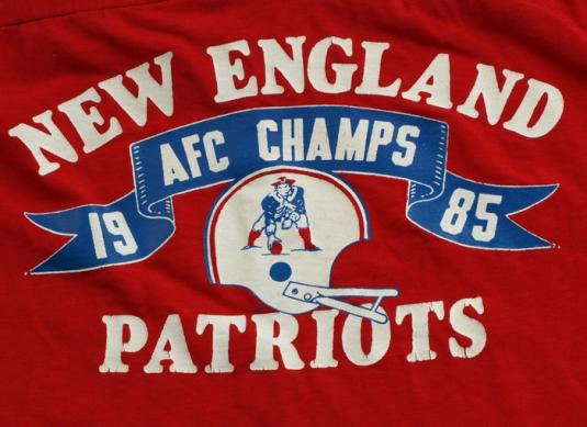 1985 CHAMPION New England Patriots Jersey Shirt