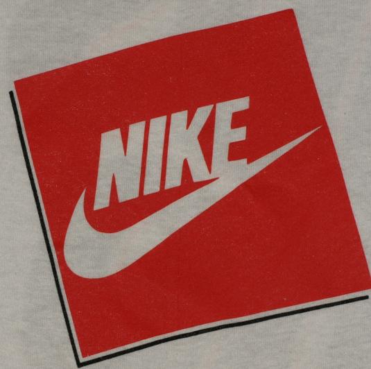 vtg 1990s nike just do it logo tshirt grey tag red swoosh