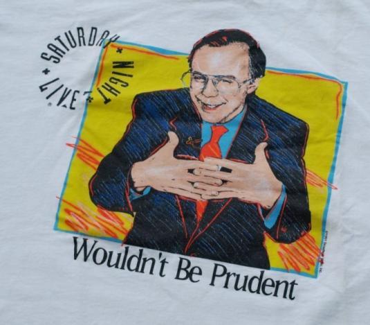 Vintage 1991 Saturday Night Live Snl Dana Carvey Bush Shirt