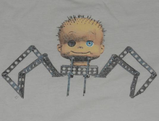 Vtg 90s Stanley Desantis Toy Story Spider Baby Face T Shirt