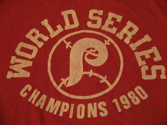 76b61747 Vintage Philadelphia Phillies World Series Champions T-Shirt