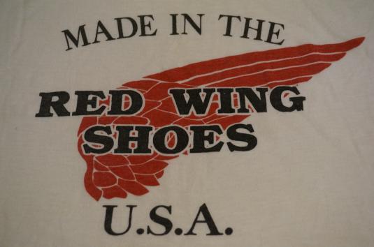 9c339fb3 Vintage Red Wing Shoes U.S.A. T-Shirt L/XL