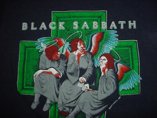 Black Sabbath Shirts Vintage Vintage Black Sabbath T-shirt