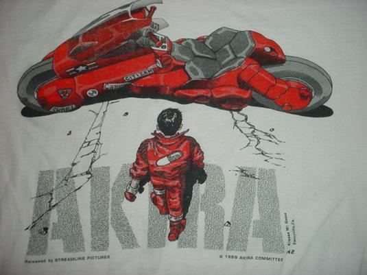 Vintage Akira T Shirt Japanimation Anime M S