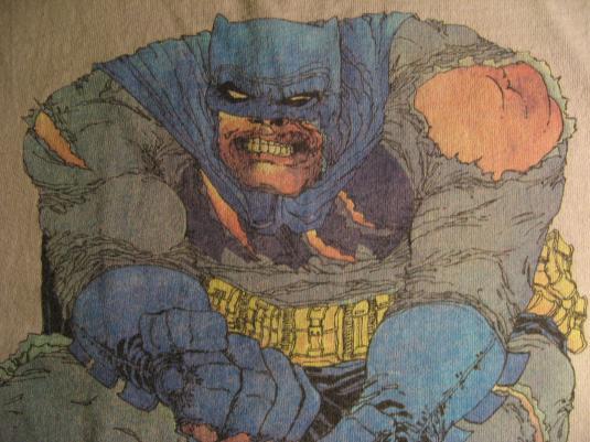 Vintage Batman Dark Knight Frank Miller T Shirt Lynn Varley