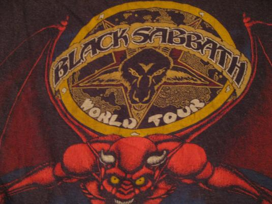 Vintage black sabbath t shirts — img 6