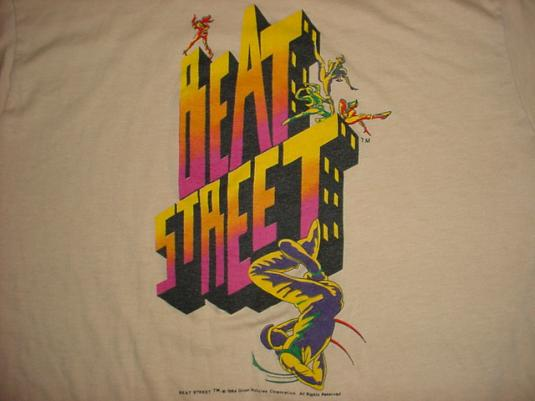 vintage beat street tshirt breakdancing movie ml