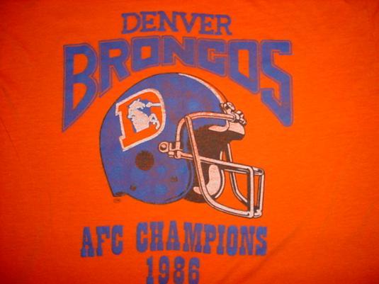 denver broncos afc championship t shirt