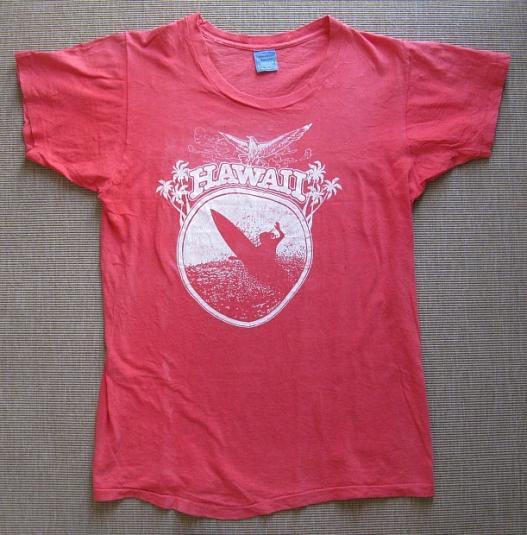 Pit Crew Shirts >> 1977 Hawaiian Tourist T-Shirt